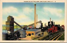 Troy NY~Hudson Valley Fuel Corp~Coke Plant~E l evator Conveyors~Boxcars1940s
