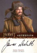 Hobbit An Unexpected Journey James Nesbitt as Bofur the Dwarf Autograph Card A5