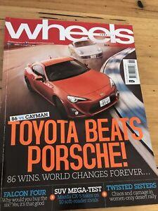 Wheels Car magazine JUNE 2012 86 CX5 SUV MEGA X5 ML GS350 RS265 B CLASS A6 A8 Q3