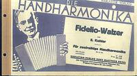 Fidelio-Walzer - Walzer von E. Kohler