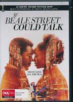 If Beale Street Could Talk DVD NEW Region 4 Regina King