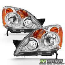 For 2005-2006 Honda CRV C-RV Headlights Headlamps Replacement 05-06 Left+Right
