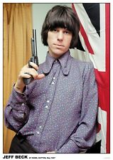Jeff Beck - Yardbirds repro Poster A1 Size 84.1cm x 59.4cm - 33 inch x 24 inch