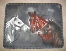 Spirit Horse Panel Fleece Throw Blanket