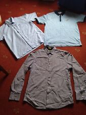 3 X Branded Men's Shirts Size M Vgc