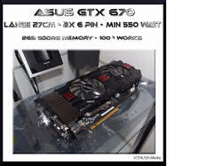 Asus Nvidia Geforce GTX 670 (2048 MB) GDDR5 - Graphic Card - Serial: 675