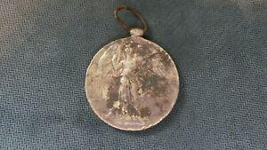 Great War Medal 1914 - 1919 with inscription .60124 PTE J.WARDLE .Y&LR