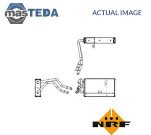 NRF FRONT HEATER RADIATOR EXCHANGER LHD ONLY 54227 P NEW OE REPLACEMENT