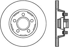 Disc Brake Rotor-Front Disc Front Left Stoptech 127.61053L