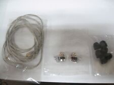Authentic Shure SE535 Sound Isolating In-ear Headphones Monitors Clear excellent