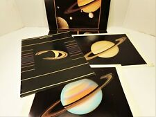 Vintage NASA Voyager at Saturn 1981 JPL Mission Guide Photo Book Magazine Poster
