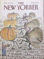 New Yorker Magazine Broderie Anglaise Novemebr 26, 1984 101217nonrh3
