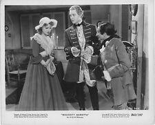NAUGHTY MARIETTA orig MGM photo JEANETTE MACDONALD/NELSON EDDY b/w lobby still
