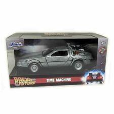 Return a Future 1 Car Delorean Machine Time 1/32 13cm Metal Diecast