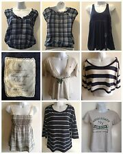 7pc Lot All Abercrombie and Hollister Juniors XS - M Shirts Tops Tanks