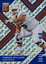 2018 Panini Elite Draft Picks Aspirations Blue #141 Connor Williams RC 12/25