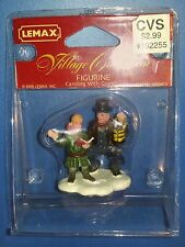 Lemax Village Collection Figurines Caroling with Grandpa 2005 52028