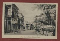 Port Said. Sultan Hussein Street.  vintage  postcard  ps.7