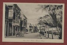 Port Said. Sultan Hussein Street.  vintage  postcard  ps.7