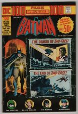 DC 100 Page Super Spectacular #20 FN/VF 7.0 higher grade Batman 1973 Spectre