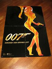 manifesto,007 Il mondo non basta World Is Not Enough,teaser advance,BROSNAN,