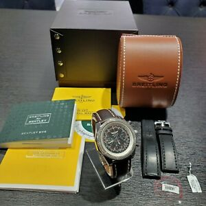 Breitling Bentley AB0612 Automatic 44MM Chronograph. NO RESERVE AUCTION!