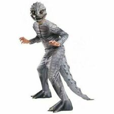 NEW JURASSIC WORLD INDOMINUS REX  DINOSAUR COSTUME WITH 3-D TAIL SIZE L 12-14