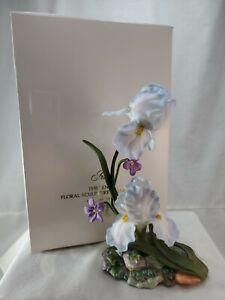 Rare Lenox IRIS Iris Germanica Fine Bone China The Garden Flowers Figurine