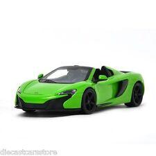 MOTORMAX  MCLAREN 650S SPIDER 1/24 DIECAST MODEL CAR GREEN 79326GRN