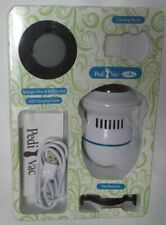 Pedi Vac 6893515 White Foot File Padi-Vac wtih Sponge Filter and Usb Cable