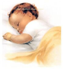 Bessie Pease Gutmann Baby Sleeping Fabric Block 5x7