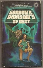 GORDON R. DICKSON'S SF BEST. 1st ed. SPIDER ROBINSON intro. Author of DORSAI etc