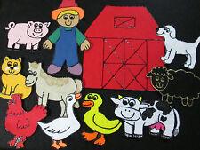 "NEW! Felt Board/ Flannel Story -""OLD MACDONALD HAD A FARM""- preschool circle"