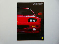 Prospekt / Katalog / Brochure Ferrari F 512 M
