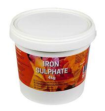 Iron Sulphate Fertiliser 4kg SREDA Fertilizer Weeding Weed Killer Moss Removal