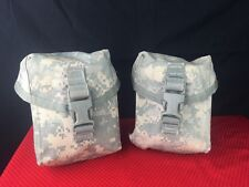 MILITARY USGI IFAK Pouch - ACU INDIVIDUAL FIRST AID KIT (IFAK) POUCH - LOT OF 2