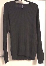MENS PLUS SIZE SWEATER 2X XXL 100% COTTON HUNT CLUB