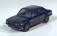 "Herpa BMW 528i 1:87 HO Scale Model 2.25"" Blue Alpina"