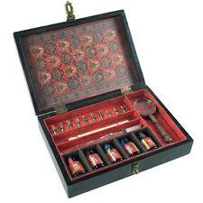 Authentic Models Trianon de viaje MG128 Set en caja de Tinta Negra instrumentos de escritura