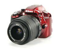 24.2 MP Nikon D3300 DSLR Camera 18-55mm f/3.5-5.6 AF-S Nikkor DX VR Lens