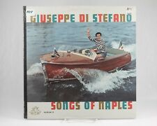 LP: GIUSEPPE DI STEFANO Songs of Naples Maria, Mari Album 2 Angel SEALED