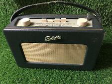 Roberts Revival R250 3 band portable radio. Green working order