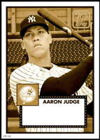 Aaron Judge 2021 Topps 5x7 70 Years of Topps Baseball Gold #70YT-2 /10 Yankees