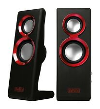 Purephonic 20 Watt USB PC Speakers - Laptop or PC Speakers