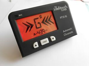 Chromatic Tuner Intellitouch PT10XL guitar + for most instruments