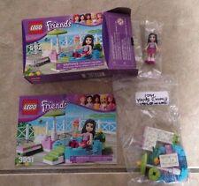 Lego Friends set 3931 Emma's Splash Pool complete box instructions & minifigure
