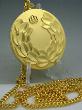 1976 Montreal Olympic Gold Medal with Ribbons & Stand 1:1 **Free Shipping**