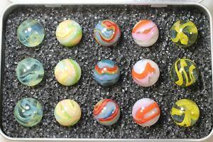 "Dave's Appalachian Swirls ""Erma Taylor Memorial""  Box of Marbles"