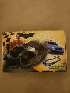 Batman Begins Scalextric boxed set (track and cars)