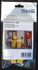 Pola 333225 Mülltonnen gelb 2 Stück